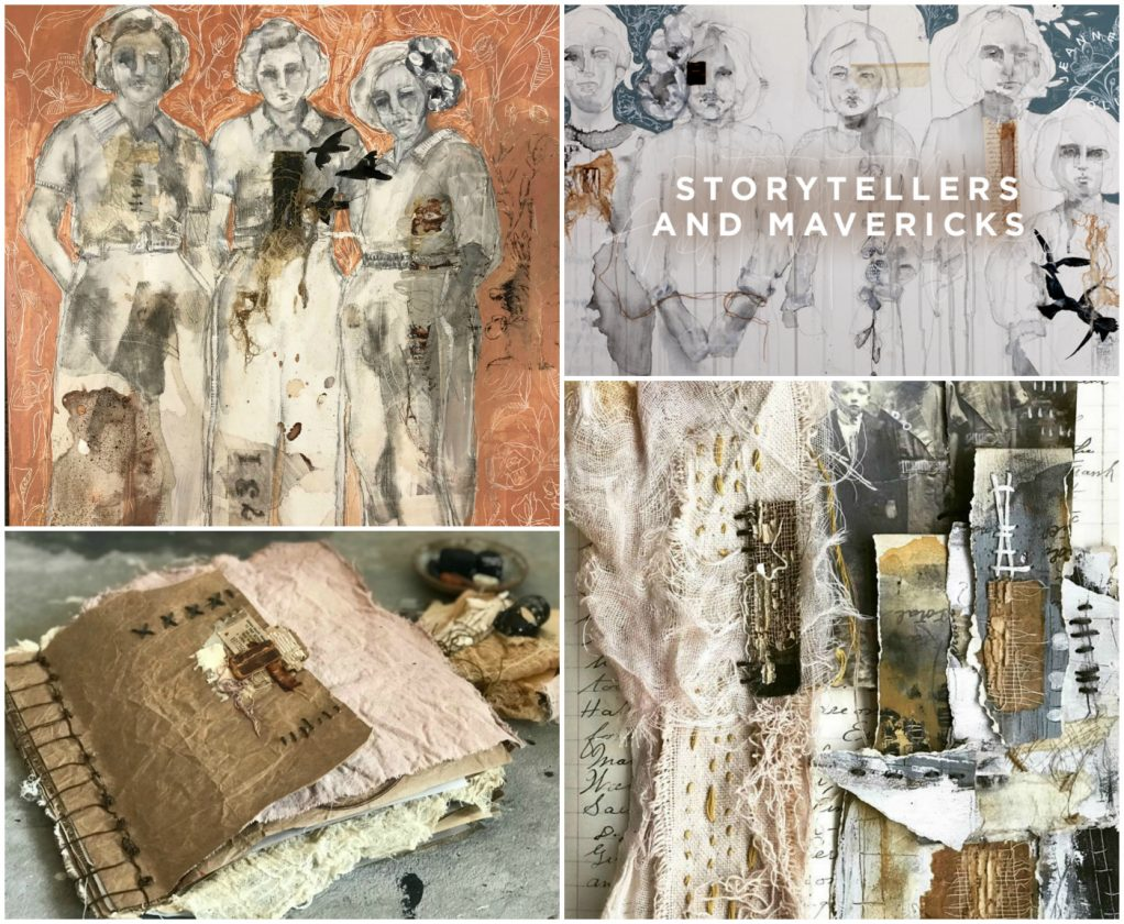Storytellers and Mavericks with Jeanne Oliver Collage