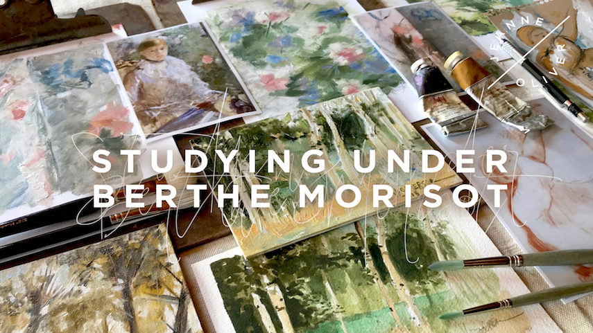 Studying Under Berthe Morisot