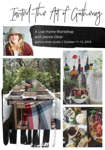 Invited a Live Home Workshop with Jeanne Oliver