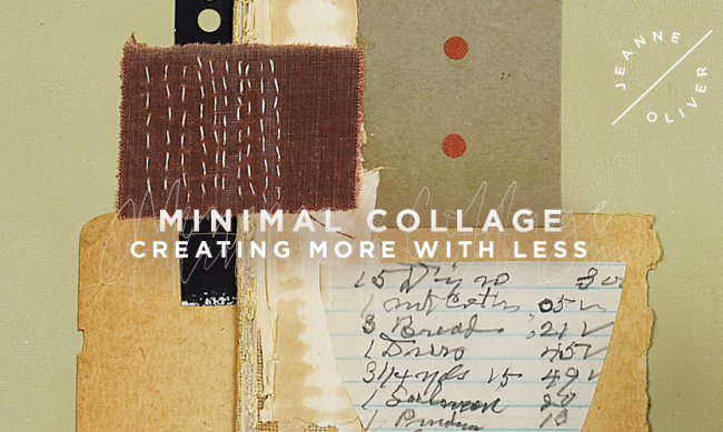 Minimal Collage with Leslie Rottner