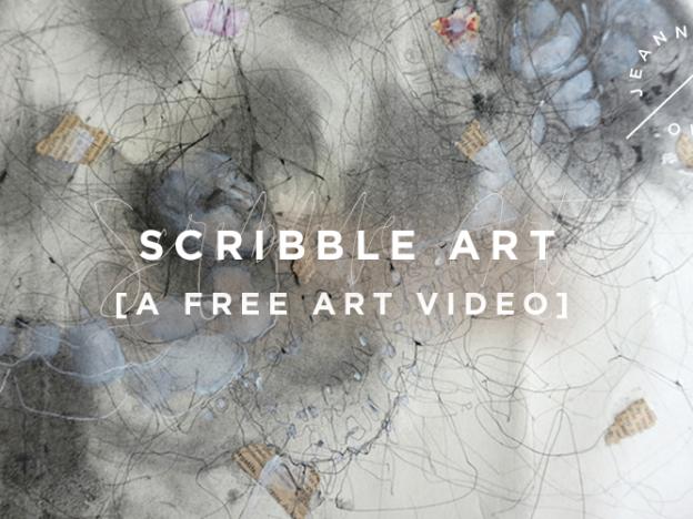 Free Art Video: Scribble Art course image