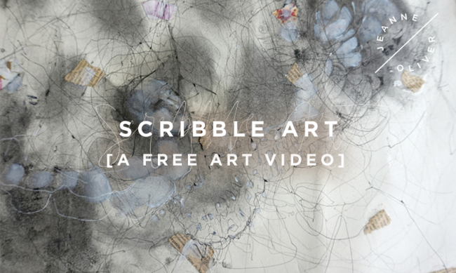 Scribble Art Free Video with Kate Thompson