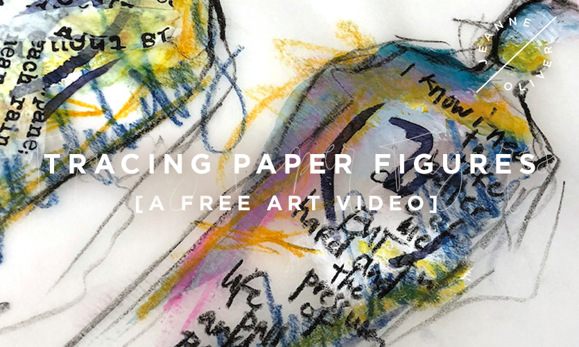Tracing Paper Figures with Dina Wakley