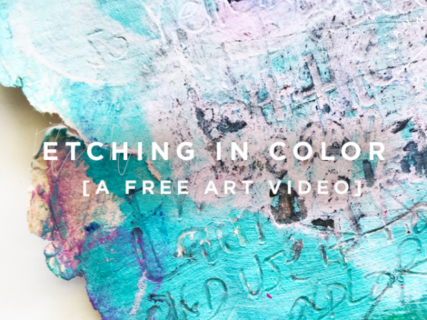 Free Art Video: Etching in Color course image