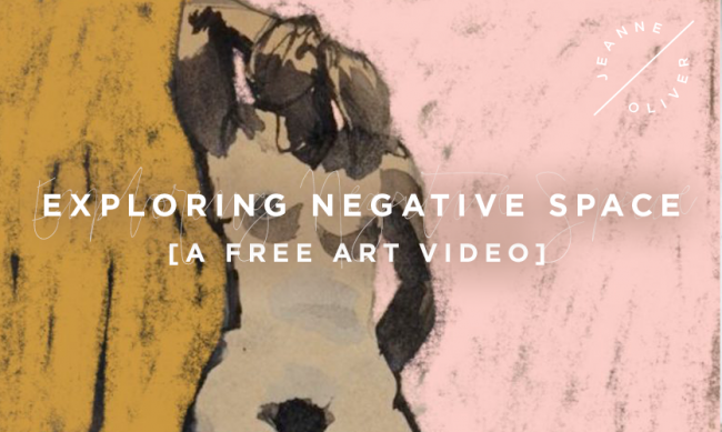 Exploring Negative Space with Pauline Agnew