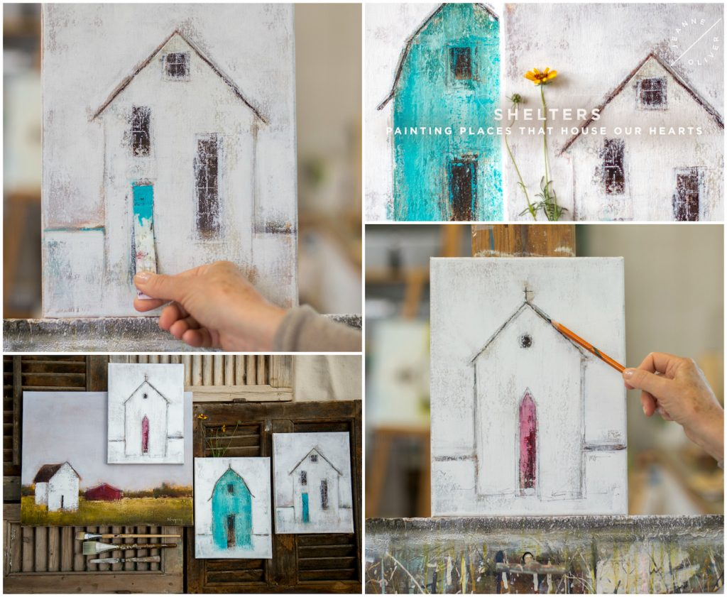 Shelters: Painting the Places that House our Hearts with Mary Gregory
