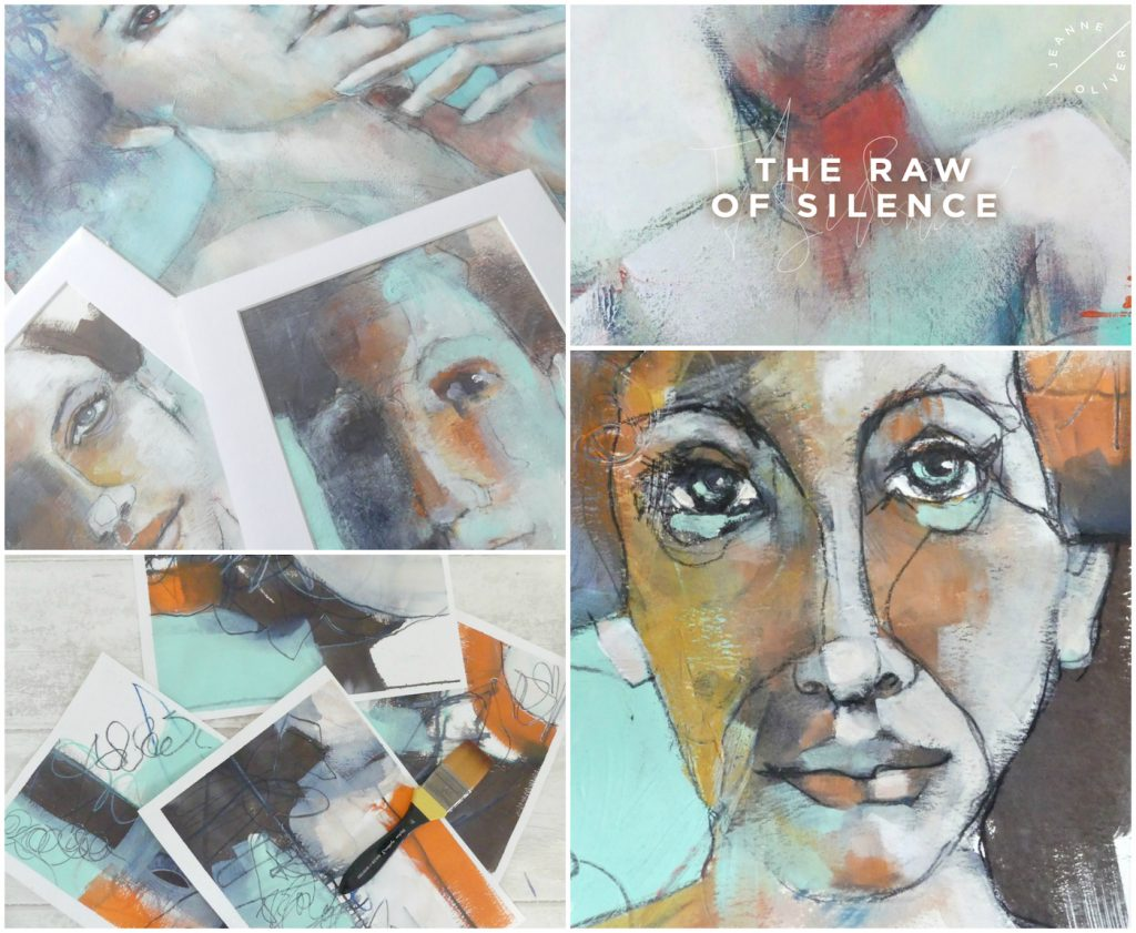 The Raw of Silence Collage