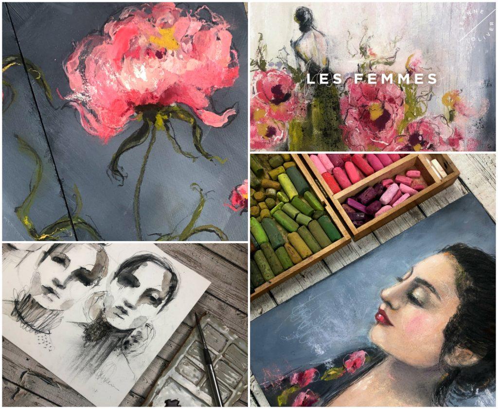 les femmes collage
