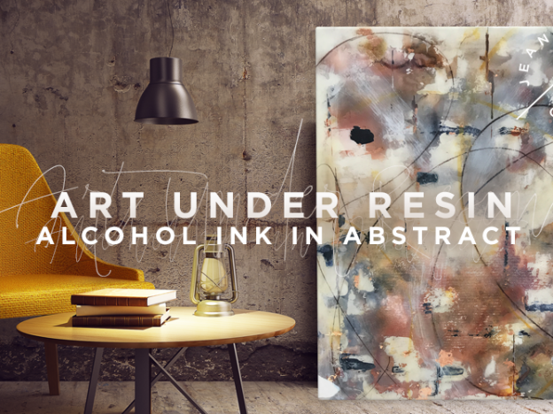 Art Under Resin | Alcohol Ink in Abstract course image