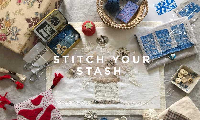 Stitch Your Stash with Charlotte Lyons