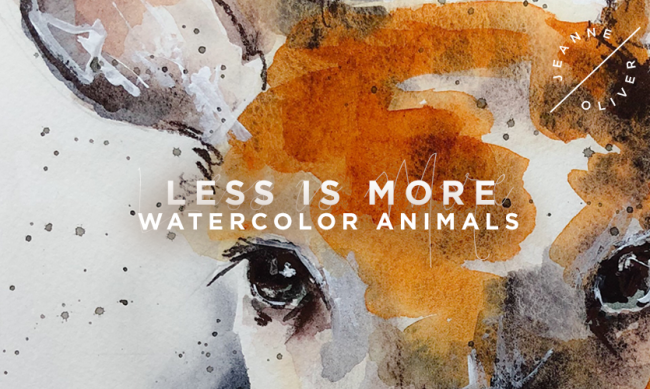 Less Is More | Watercolor Animals with Lexi Grenzerzer