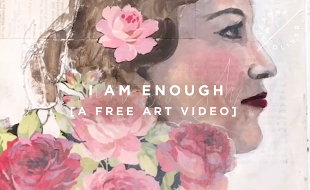 Free Art Video: I Am Enough course image