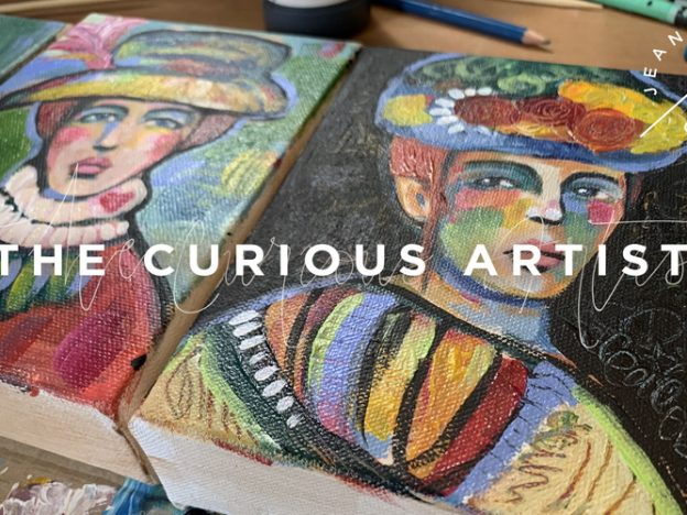 The Curious Artist course image