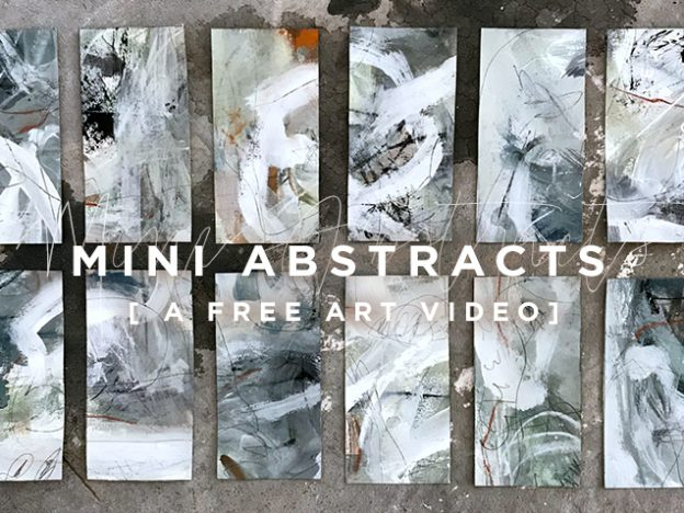 Free Art Video: Mini Abstracts course image