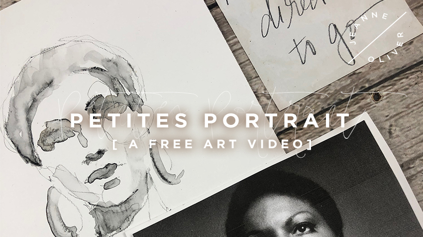 Free Art Video: Petites Portrait