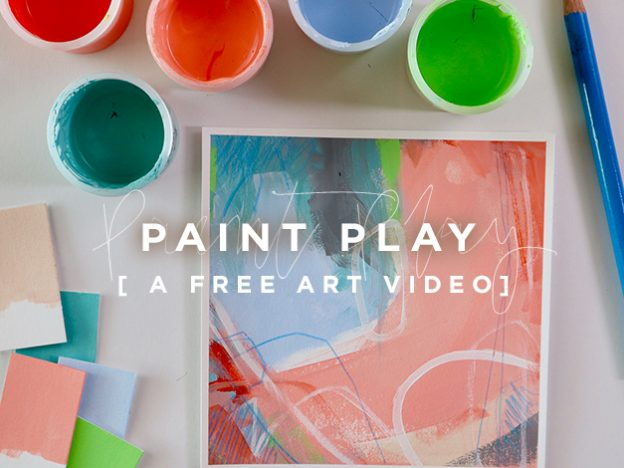 Free Art Video: Paint Play course image
