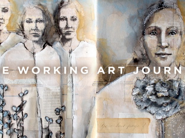 The Working Art Journal course image