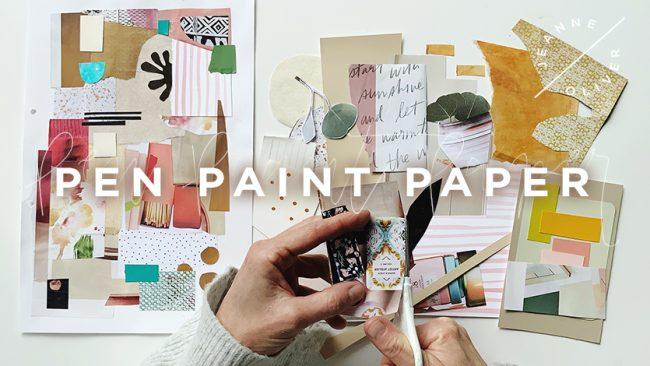Pen Paint Paper 1