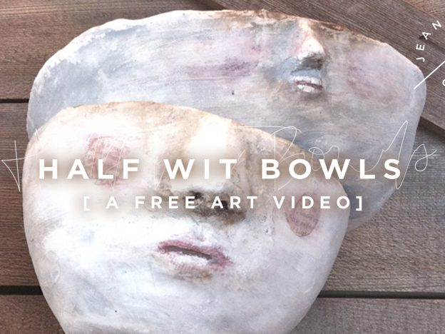 Free Art Video: Half Wit Bowls course image