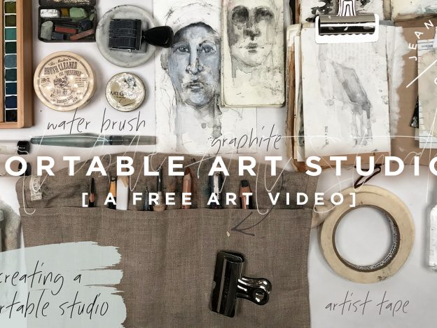 Free Art Video: Portable Art Studio course image