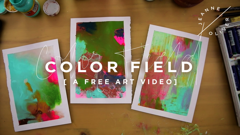 Free Art Video: Color Field
