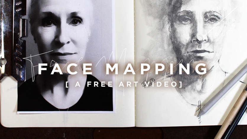 Free Art Video: Face Mapping