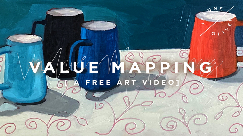 Free Art Video: Value Mapping