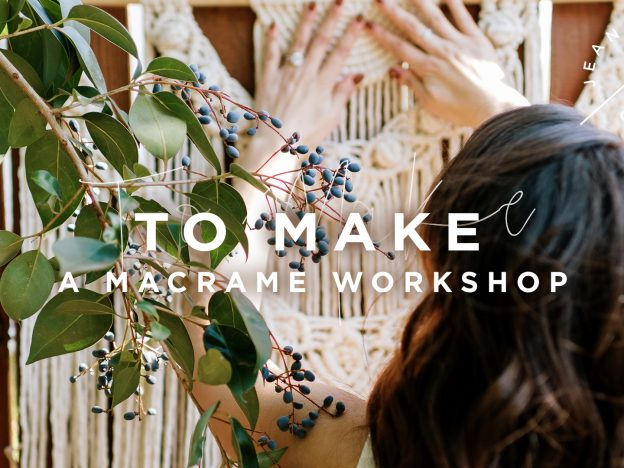 To Make A Macramé Workshop course image