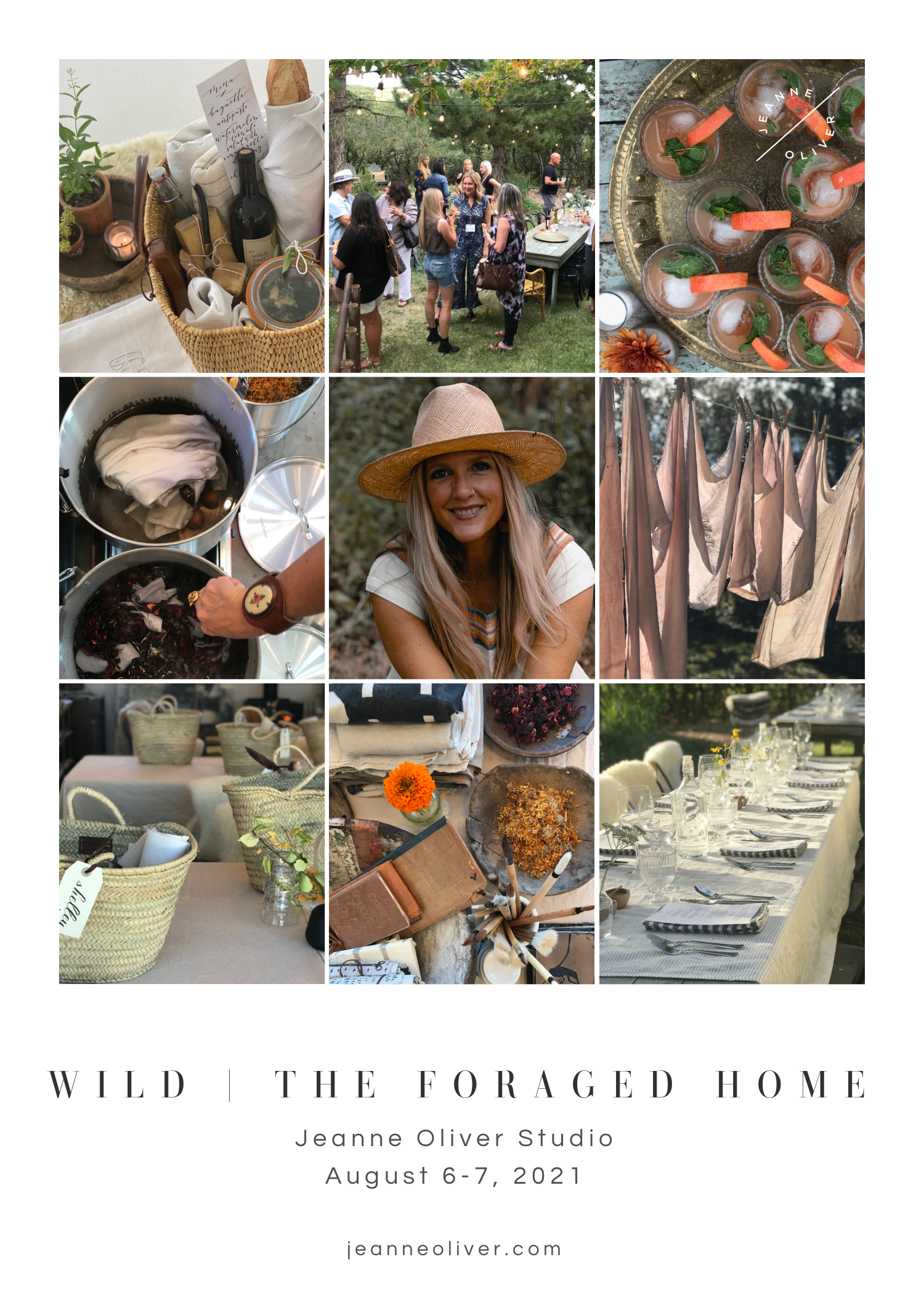 Wild | The Foraged Home with Jeanne Oliver